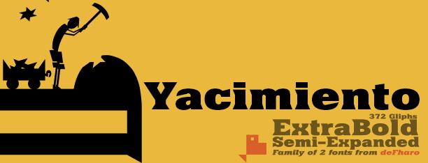 Image for Yacimiento font