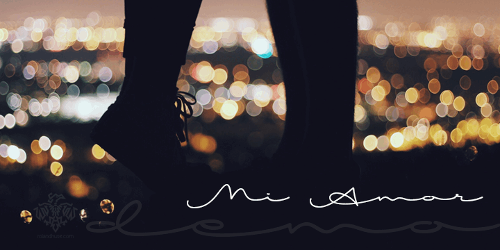Image for Mi Amor font