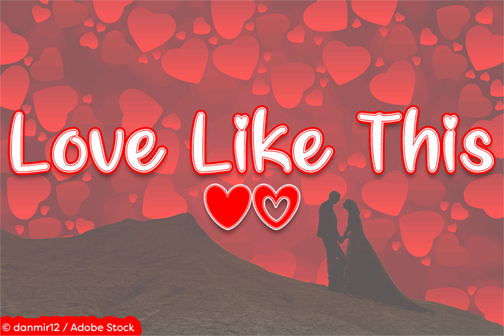 Love Like This font by Misti's Fonts