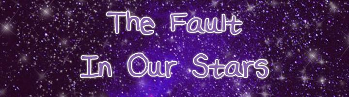 TheFaultInOurStars font by fearlessforever13