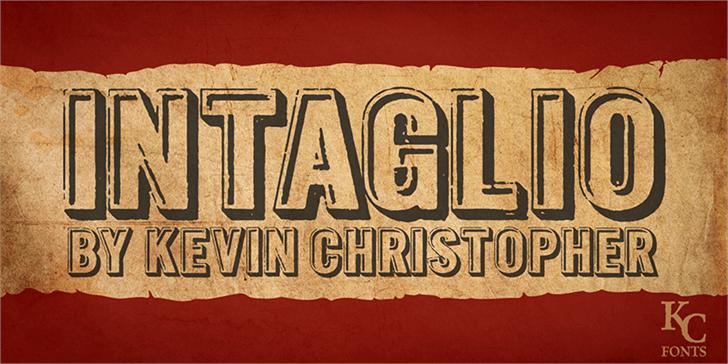 Image for Intaglio DEMO font