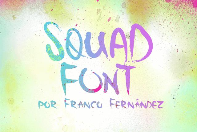 Image for Squad Font