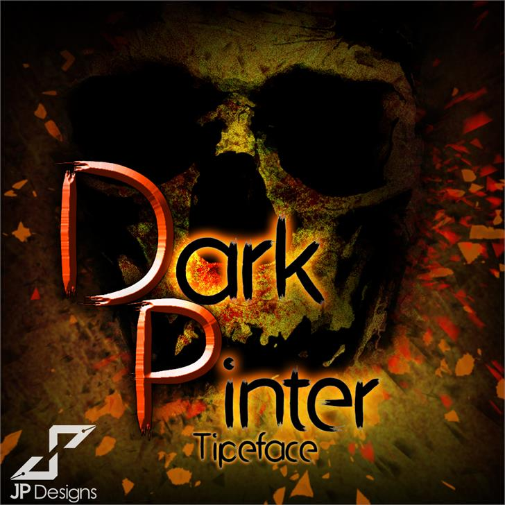 Image for Dark Pinter Personal Use font