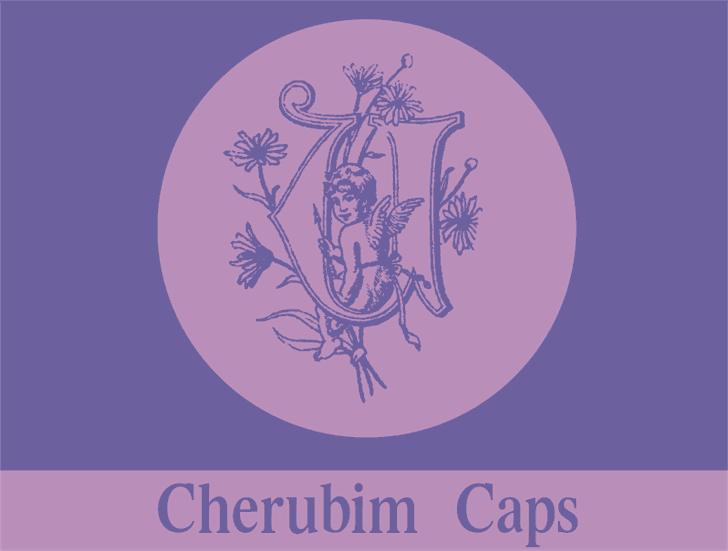 Image for CherubimCaps font