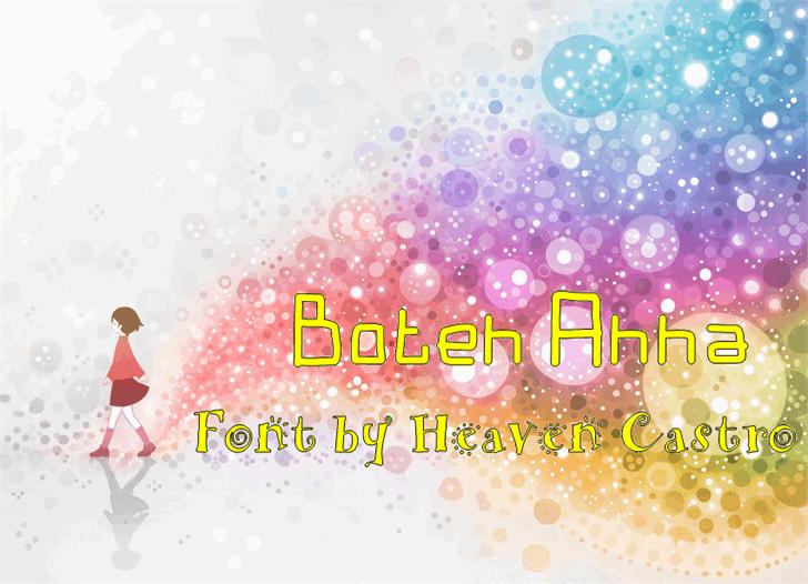 Image for Boten Anna font