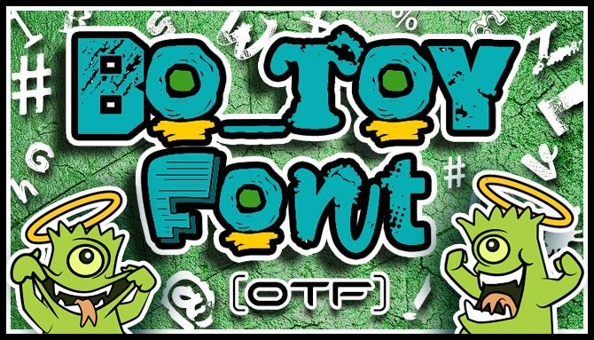 Bo Toy font by VVB DESIGNS