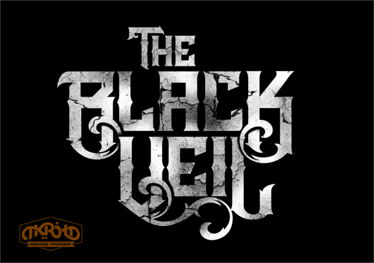 Image for The Black Veil DEMO font