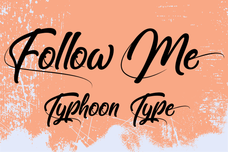 Image for Follow Me font