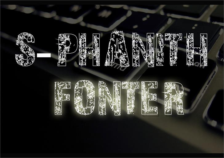 S-PHANITH FONTER WW font by Suonmay Sophanith