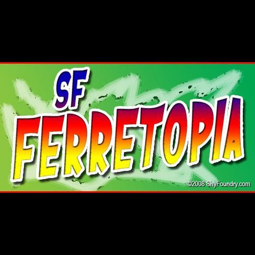 Image for SF Ferretopia font
