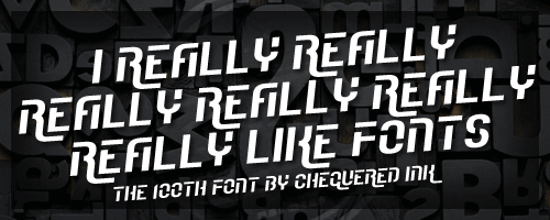 Image for I Really Really Really Really R font