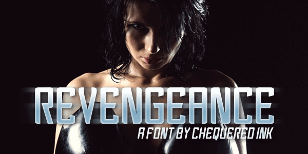 Revengeance font by Chequered Ink