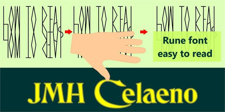 Image for JMH Celaeno Book font