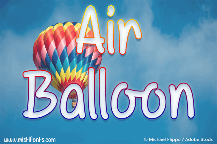 Image for Mf Air Balloon font