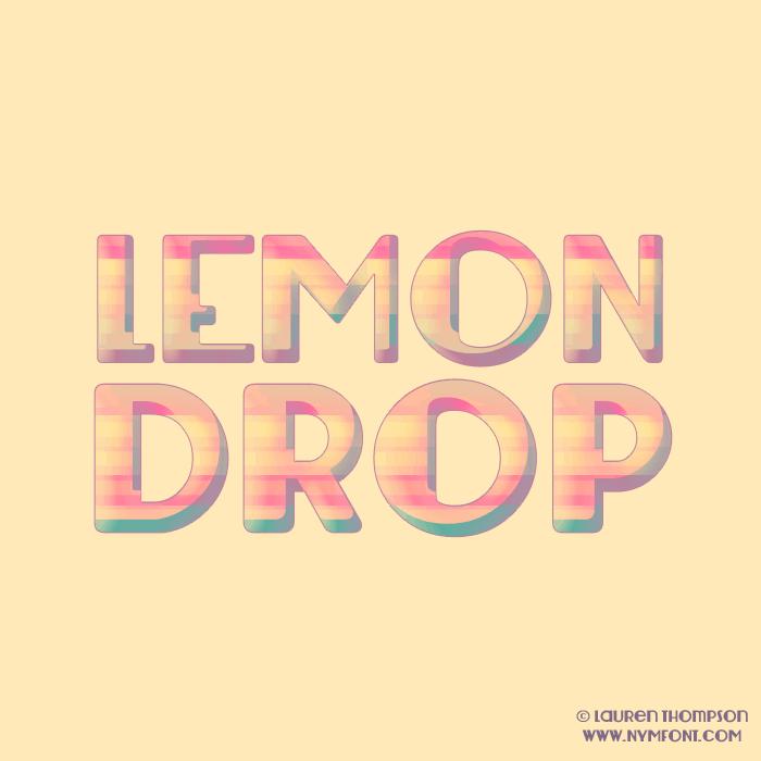 Image for Lemondrop font