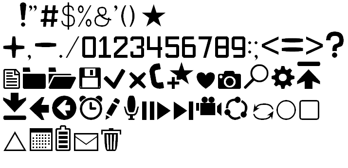 Image for Software Kit 7 font
