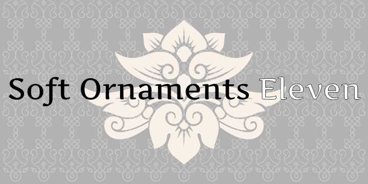 Image for Soft Ornaments Eleven font