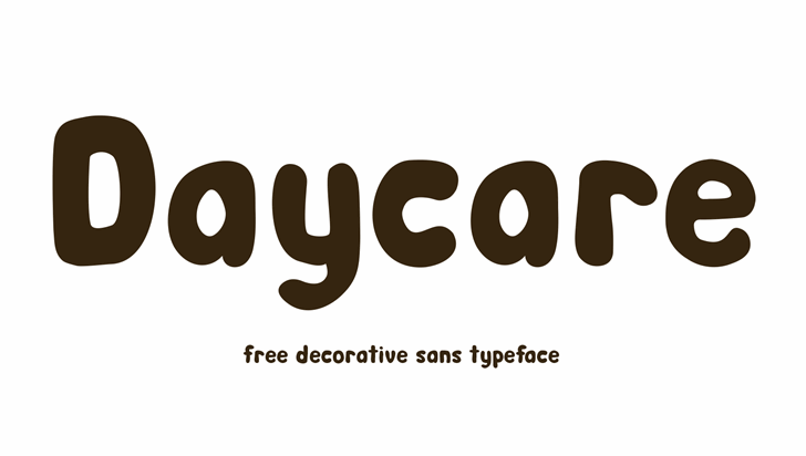 Day Care font by Noponies