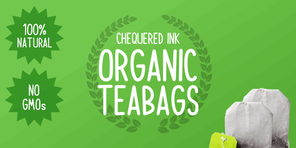 Image for Organic Teabags font
