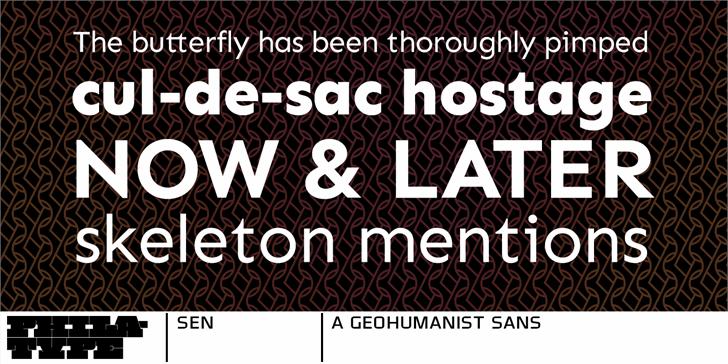 Image for Sen font
