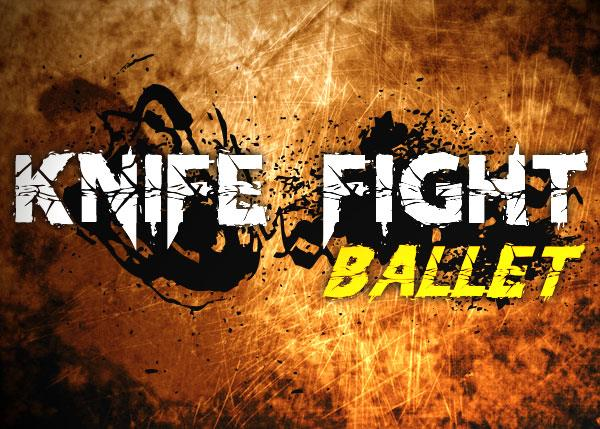 Knife Fight Ballet font by Chris Vile
