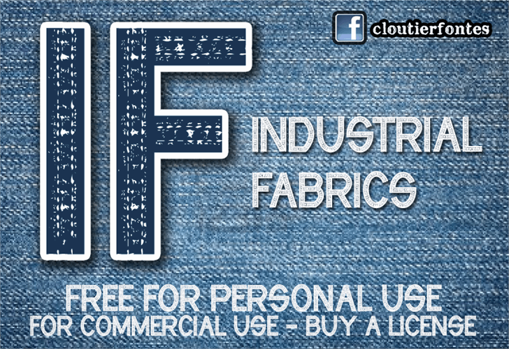 Image for CF Industrial Fabrics font