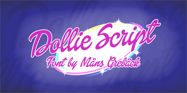 Image for Dollie Script Personal Use font