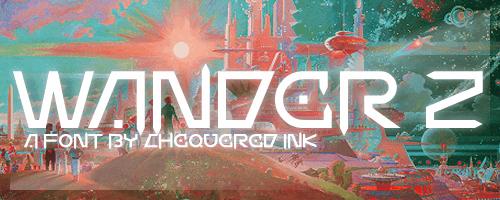 Image for Wander Z font