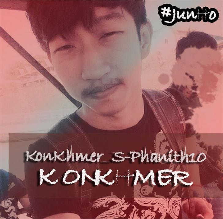 Image for KonKhmer_S-Phanith10 font