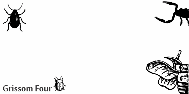 Image for Grissom Four font