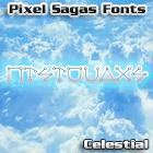 Celestial font by Pixel Sagas