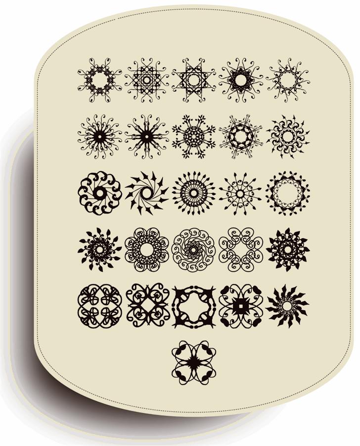 Image for Rosette110621 font