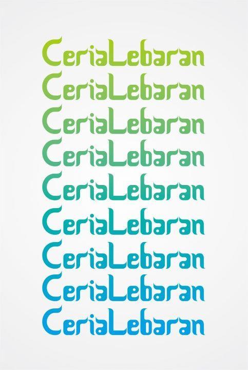 Image for Ceria Lebaran font