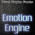 Image for Emotion Engine font