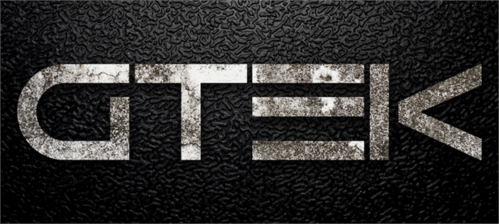 Image for Gtek Nova font