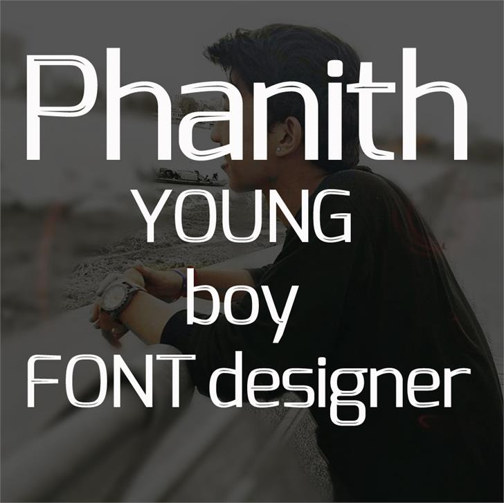 S-Phanith FONTER THIN font by Suonmay Sophanith