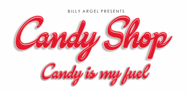 Image for Candy Shop Personal Use font