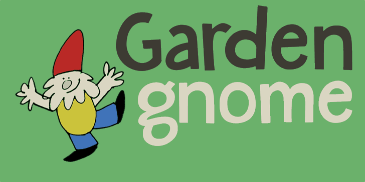 Image for DK Garden Gnome font