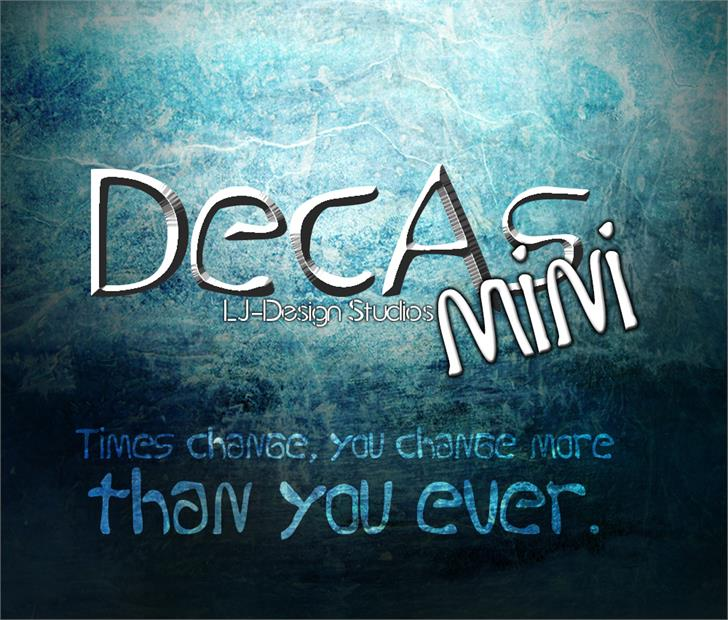 Image for Decas mini font