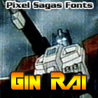 Image for Gin Rai font