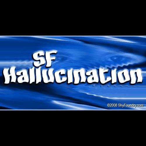 SF Hallucination font by ShyFoundry