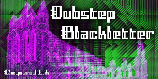 Image for Dubstep Blackletter font