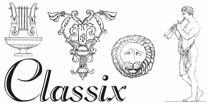 Image for Classix font