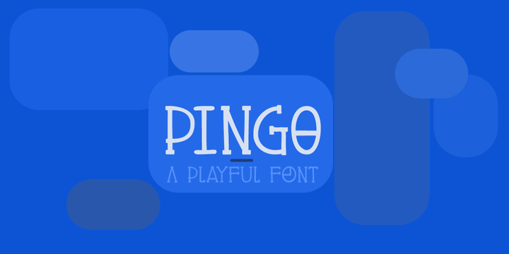 Image for DK Pingo font