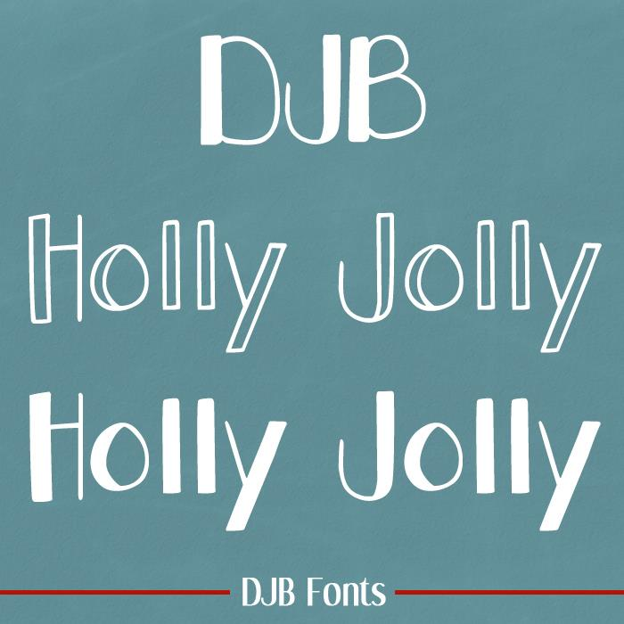 Image for DJB Holly Jolly font