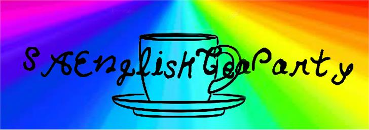 Image for SAEnglishTeaParty font
