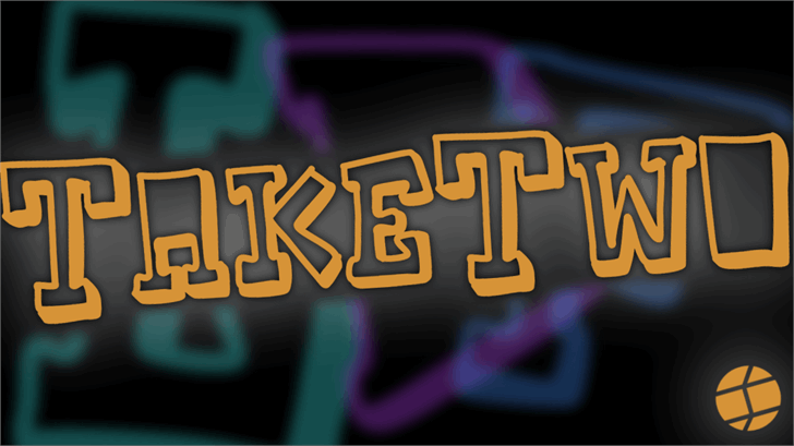 TakeTwo font by Jake Luedecke Motion & Graphic Design