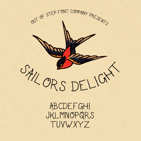 Image for Sailor's Delight font