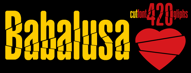 Image for Babalusa Cut font