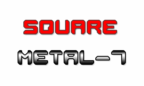 Image for Square Metal-7 font